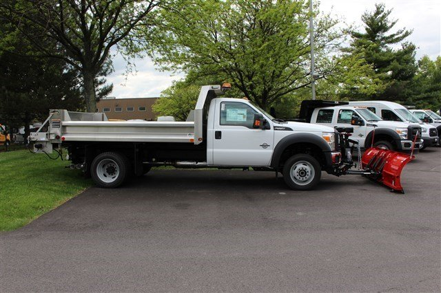 2016 F-550 Regular Cab DRW 4x4, Rugby Dump Body #FTG3582 - photo 8