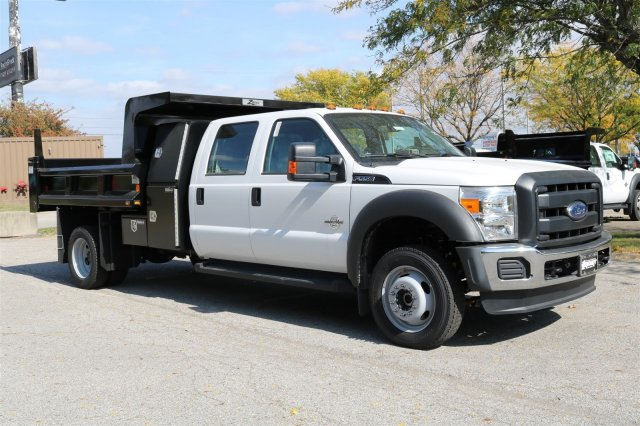 2016 F-550 Crew Cab DRW 4x4, Dump Body #FTG4096 - photo 3