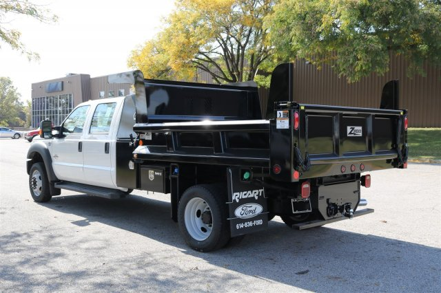 2016 F-550 Crew Cab DRW 4x4, Dump Body #FTG4096 - photo 5