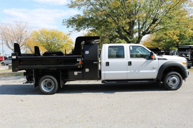 2016 F-550 Crew Cab DRW 4x4, Dump Body #FTG4096 - photo 8