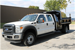 2016 F-550 Crew Cab DRW 4x4, Dump Body #FTG4096 - photo 1
