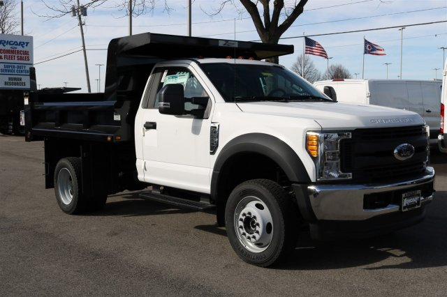 2017 F-550 Regular Cab DRW 4x4, Rugby Dump Body #FTH2324 - photo 3