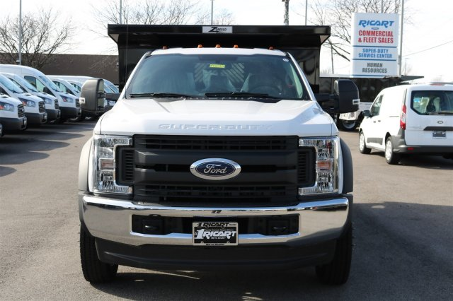 2017 F-550 Regular Cab DRW 4x4, Rugby Dump Body #FTH2324 - photo 4