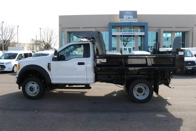 2017 F-550 Regular Cab DRW 4x4, Rugby Dump Body #FTH2324 - photo 5
