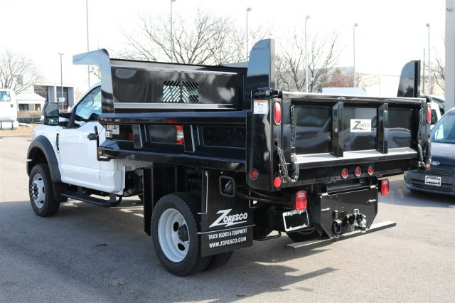 2017 F-550 Regular Cab DRW 4x4, Rugby Dump Body #FTH2324 - photo 2