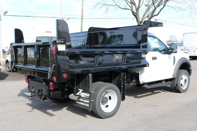 2017 F-550 Regular Cab DRW 4x4, Rugby Dump Body #FTH2324 - photo 7