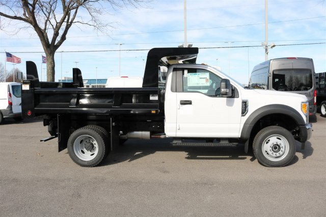 2017 F-550 Regular Cab DRW 4x4, Rugby Dump Body #FTH2324 - photo 8