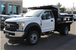 2017 F-550 Regular Cab DRW 4x4, Rugby Dump Body #FTH2324 - photo 1