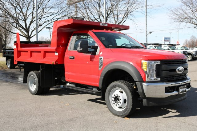 2017 F-550 Regular Cab DRW 4x4, Rugby Dump Body #FTH2428 - photo 3