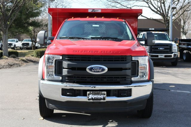 2017 F-550 Regular Cab DRW 4x4, Rugby Dump Body #FTH2428 - photo 4