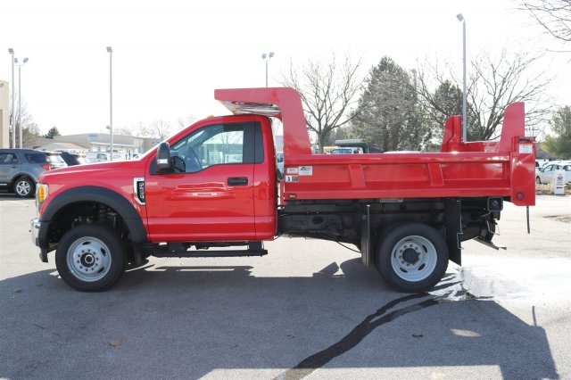 2017 F-550 Regular Cab DRW 4x4, Rugby Dump Body #FTH2428 - photo 5