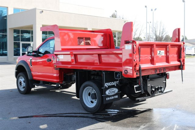 2017 F-550 Regular Cab DRW 4x4, Rugby Dump Body #FTH2428 - photo 2