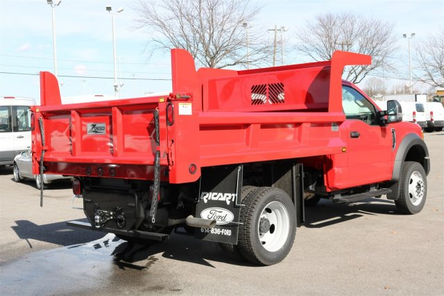 2017 F-550 Regular Cab DRW 4x4, Rugby Dump Body #FTH2428 - photo 7