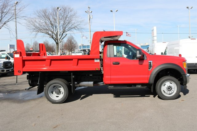 2017 F-550 Regular Cab DRW 4x4, Rugby Dump Body #FTH2428 - photo 8