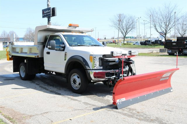 2017 F-550 Regular Cab DRW 4x4, Rugby Eliminator LP Stainless Steel Dump Body #FTH2445 - photo 3