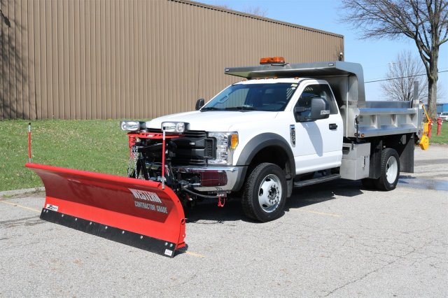 2017 F-550 Regular Cab DRW 4x4, Rugby Dump Body #FTH2445 - photo 1