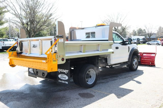 2017 F-550 Regular Cab DRW 4x4, Rugby Eliminator LP Stainless Steel Dump Body #FTH2445 - photo 7