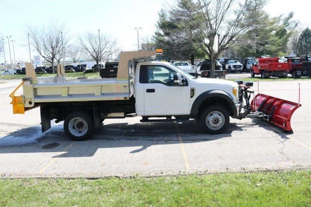 2017 F-550 Regular Cab DRW 4x4, Rugby Dump Body #FTH2445 - photo 8