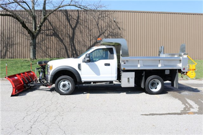 2017 F-550 Regular Cab DRW 4x4, Rugby Eliminator LP Stainless Steel Dump Body #FTH2445 - photo 5