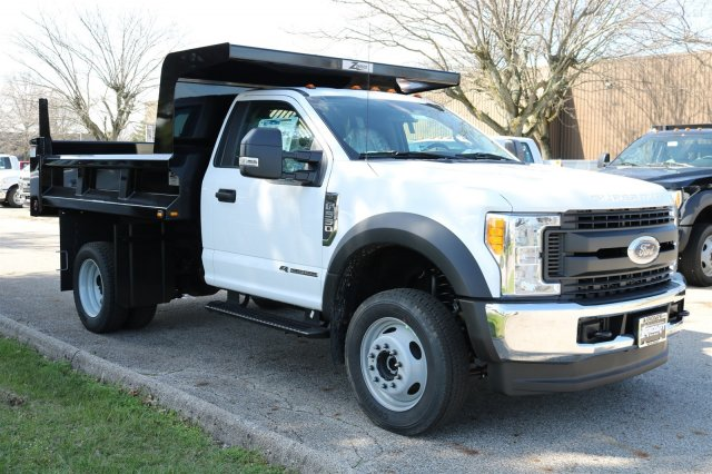 2017 F-550 Regular Cab DRW 4x4, Rugby Dump Body #FTH2662 - photo 3