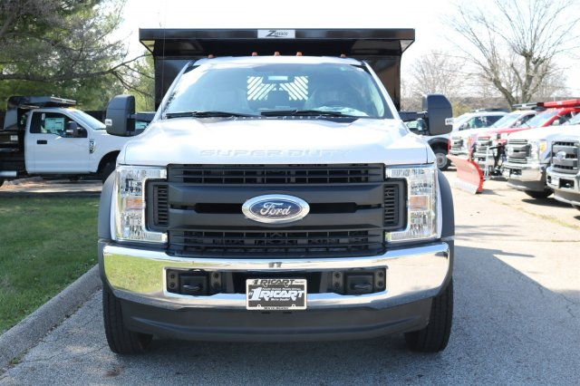 2017 F-550 Regular Cab DRW 4x4, Rugby Dump Body #FTH2662 - photo 4
