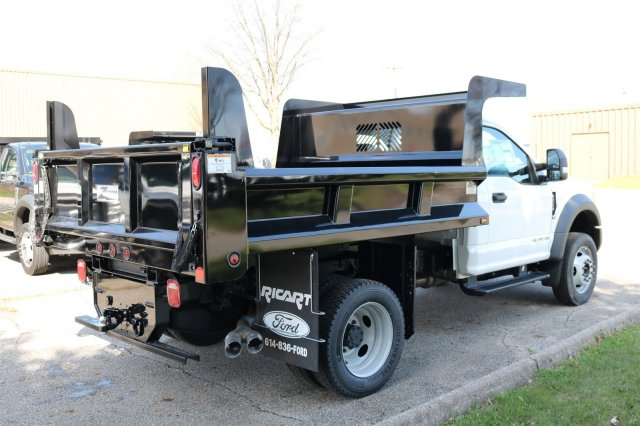 2017 F-550 Regular Cab DRW 4x4, Rugby Dump Body #FTH2662 - photo 6