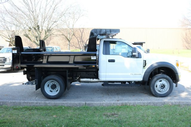 2017 F-550 Regular Cab DRW 4x4, Rugby Dump Body #FTH2662 - photo 7