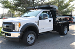 2017 F-550 Regular Cab DRW 4x4, Rugby Dump Body #FTH2662 - photo 1