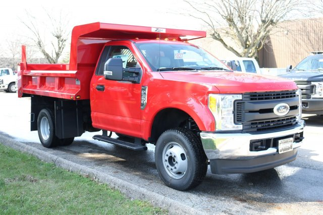 2017 F-350 Regular Cab DRW 4x4, Rugby Dump Body #FTH2827 - photo 3