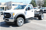 2017 F-550 Regular Cab DRW 4x4 Cab Chassis #FTH3021 - photo 1