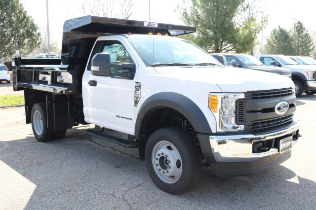 2017 F-550 Regular Cab DRW 4x4, Rugby Dump Body #FTH3047 - photo 3