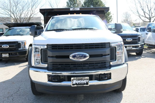2017 F-550 Regular Cab DRW 4x4, Rugby Dump Body #FTH3047 - photo 4