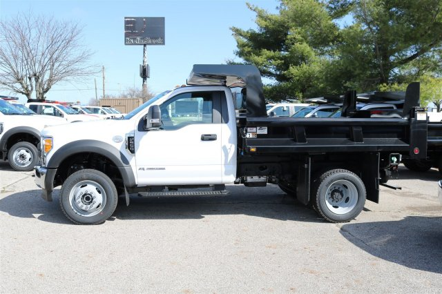 2017 F-550 Regular Cab DRW 4x4, Rugby Dump Body #FTH3047 - photo 5