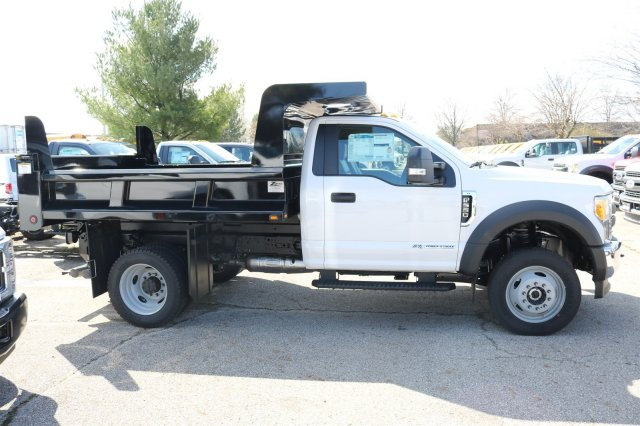 2017 F-550 Regular Cab DRW 4x4, Rugby Dump Body #FTH3047 - photo 6