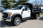 2017 F-550 Regular Cab DRW 4x4, Rugby Dump Body #FTH3047 - photo 1