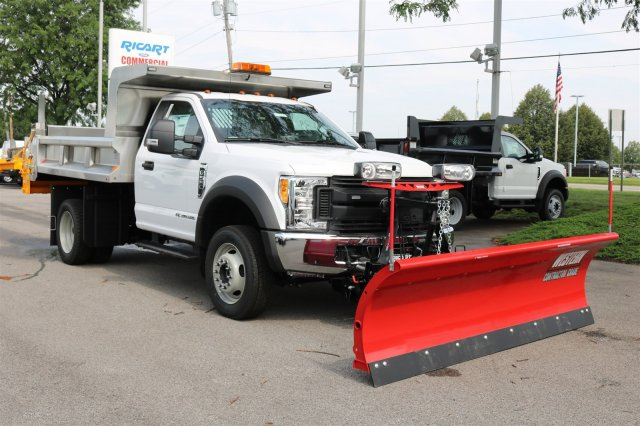 2017 F-550 Regular Cab DRW 4x4, Rugby Dump Body #FTH3730 - photo 3