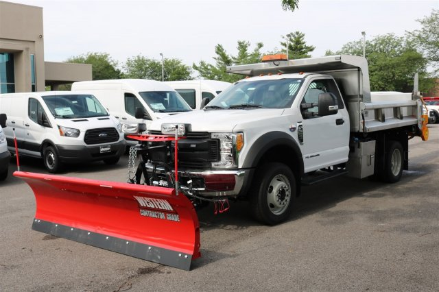 2017 F-550 Regular Cab DRW 4x4, Rugby Z-Spec Dump Body #FTH3730 - photo 1