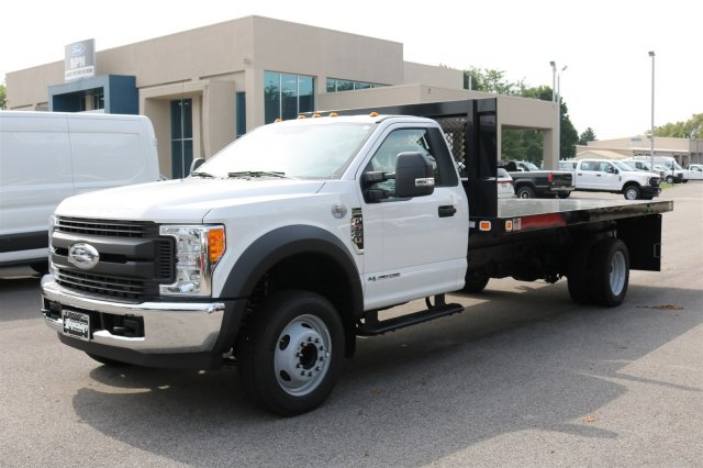 2017 F-550 Regular Cab DRW, Knapheide Value-Master X Platform Body #FTH3963 - photo 1