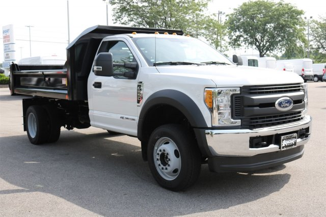 2017 F-550 Regular Cab DRW 4x4, Crysteel Dump Body #FTH3969 - photo 3