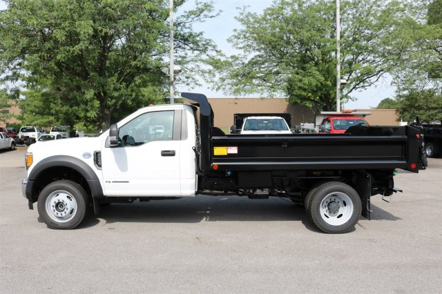 2017 F-550 Regular Cab DRW 4x4, Crysteel Dump Body #FTH3969 - photo 6