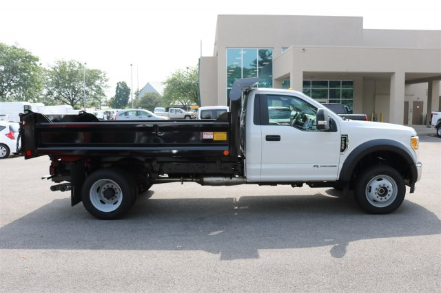 2017 F-550 Regular Cab DRW 4x4, Crysteel Dump Body #FTH3969 - photo 8