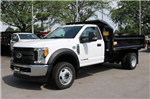 2017 F-550 Regular Cab DRW 4x4, Crysteel Dump Body #FTH3969 - photo 1
