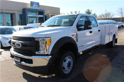 2017 F-550 Crew Cab DRW 4x4, Reading Classic II Steel Service Body #FTH4230 - photo 1