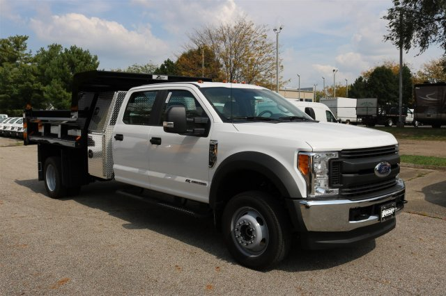 2017 F-550 Crew Cab DRW 4x4, Rugby Dump Body #FTH4512 - photo 3