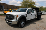 2017 F-550 Crew Cab DRW 4x4, Rugby Dump Body #FTH4512 - photo 1