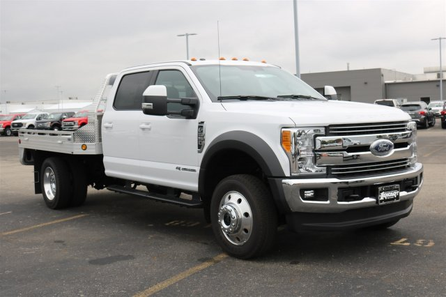 2017 F-550 Crew Cab DRW 4x4, Hillsboro Platform Body #FTH4699 - photo 3