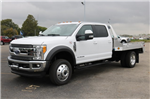 2017 F-550 Crew Cab DRW 4x4, Hillsboro Platform Body #FTH4699 - photo 1