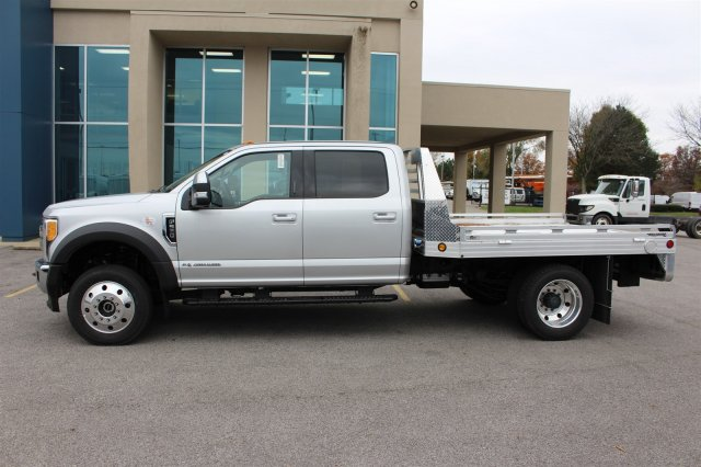 2017 F-550 Crew Cab DRW 4x4, Hillsboro Platform Body #FTH4771 - photo 5