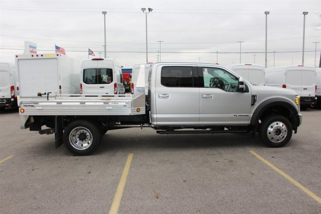 2017 F-550 Crew Cab DRW 4x4, Hillsboro Platform Body #FTH4771 - photo 8
