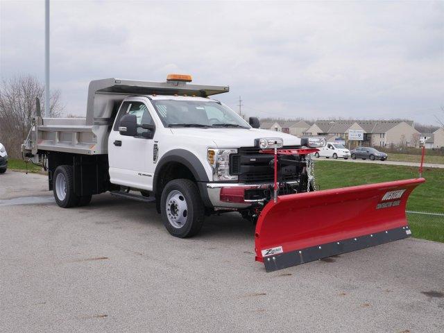 2018 F-550 Regular Cab DRW 4x4,  Rugby Dump Body #FTJ2415 - photo 3